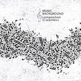 Het vectorlicht stippelde naadloze muziekachtergrond, wi van de canvastextuur Royalty-vrije Stock Foto