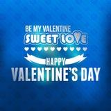 Het Vectormalplaatje van de valentijnskaartendag Vector Illustratie