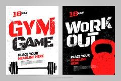 Het vectormalplaatje van het lay-outontwerp voor sportevenement