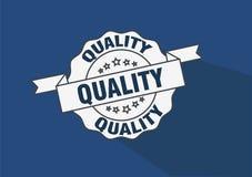 Het vectorontwerp van de kwaliteitszegel Stock Foto