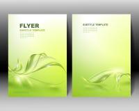 Het vectorontwerp van het brochuremalplaatje Stock Foto