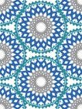 Het vectorornament van het bloempatroon Elegante luxetextuur voor textiel, stoffen of behangachtergronden stock afbeeldingen
