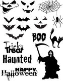 Het VectorPak van Halloween Royalty-vrije Stock Fotografie