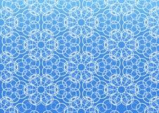 Het vectorpatroon van de bloem. royalty-vrije illustratie