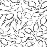 Het vectorpatroon van Gojibessen vector illustratie