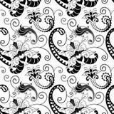 Het vectorpatroon van Paisley Stock Foto