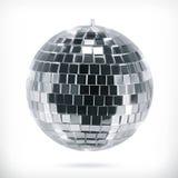 Het vectorpictogram van de discobal Stock Foto