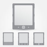Het vectorpictogram van de EBooklezer royalty-vrije illustratie