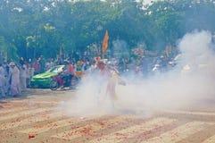 Het Vegetarische Festival in Thailand Royalty-vrije Stock Afbeeldingen