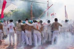 Het Vegetarische Festival van Surat Thani Stock Afbeelding