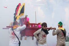 Het Vegetarische Festival van Surat Thani Royalty-vrije Stock Foto's