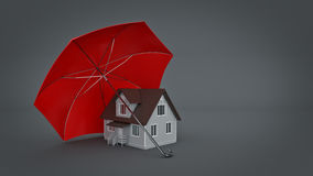 Het veilige Concept van het Huis vector illustratie