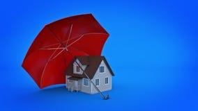 Het veilige Concept van het Huis stock illustratie