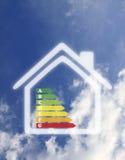 Het veilige huis van de energie Stock Foto