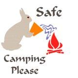 Het veilige kamperen Royalty-vrije Stock Fotografie