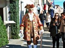 Het venetiaans-stijlmasker, Venetië Carnaval is één van beroemdst in de wereld die, is zijn kenmerk de maskers, aan reli worden g stock foto