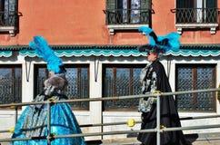 Het venetiaans-stijlmasker, Venetië Carnaval is één van beroemdst in de wereld die, is zijn kenmerk de maskers, aan reli worden g royalty-vrije stock foto's