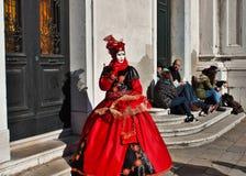 Het venetiaans-stijlmasker, Venetië Carnaval is één van beroemdst in de wereld die, is zijn kenmerk de maskers, aan reli worden g royalty-vrije stock fotografie