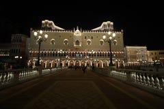 Het Venetiaanse Hotel en het casino van de Toevlucht van Macao Stock Foto