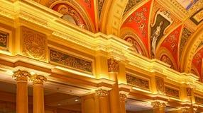 Het Venetiaanse hotel, Macao stock foto