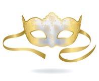 Het Venetiaanse masker van Carnaval royalty-vrije illustratie