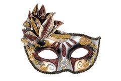 Het Venetiaanse masker van Carnaval Stock Foto