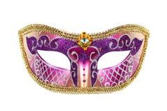 Het Venetiaanse masker van Carnaval Stock Fotografie