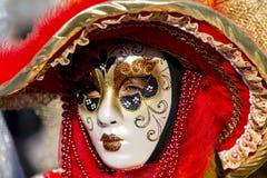 Het Venetiaanse Masker van Carnaval Royalty-vrije Stock Fotografie