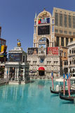 Het Venetiaanse Teken in Las Vegas, NV op 27 April, 2013 Stock Foto