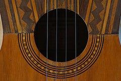 Het Venezolaanse muzikale instrument van Gr Cuatro Royalty-vrije Stock Foto's