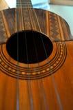 Het Venezolaanse muzikale instrument van Gr Cuatro Royalty-vrije Stock Foto