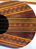 Het Venezolaanse muzikale instrument van Gr Cuatro Stock Foto