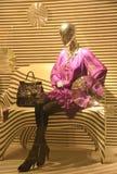 Het venster van de boutique Stock Foto's