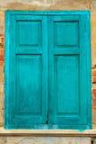 Het venster van de Brandweerkazerne van Bangrak Royalty-vrije Stock Afbeelding