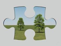 Het venster van de figuurzaag Vector Illustratie