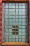 Het Venster van de glasbaksteen Royalty-vrije Stock Foto