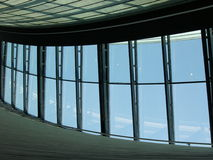 Het venster van de hemel Stock Foto's