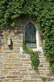 Het venster van de kerk Stock Fotografie