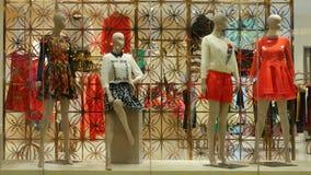 Het venster van de kledingswinkel royalty-vrije stock fotografie