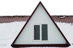 Het venster van de penthouse. Royalty-vrije Stock Foto
