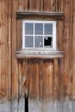 Het venster van de schuur Stock Afbeelding