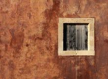Het venster van de steen Stock Foto