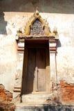 Het venster van de tempel van Krouy van de Klap van Fah van Kaew Royalty-vrije Stock Foto's