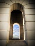 Het venster van de vuurtoren Royalty-vrije Stock Foto's