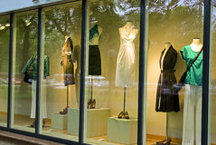 Het venster van de winkel Stock Foto's