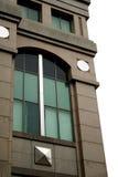 Het venster van het bureau Stock Foto