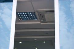 Het venster van het bureau Royalty-vrije Stock Fotografie