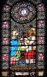Het venster van het gebrandschilderd glas Royalty-vrije Stock Fotografie