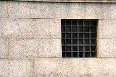 Het venster van het ijzer Stock Foto's