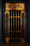 Het venster van het kaartje Stock Foto's